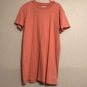 🗣🗣NEVER BEEN WORN   Madewell t-shirt dress